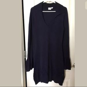 some days lovin urban outfitters navy knit dress M